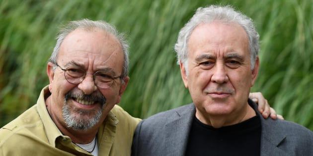 """Michele Santoro e Vauro: """"C"""