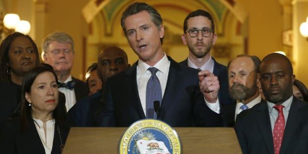 La Californie suspend la peine de mort.