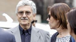 La sinistra italiana ai funerali della vedova di Enrico