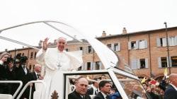 Papa Francesco a Carpi a 5 anni dal sisma: