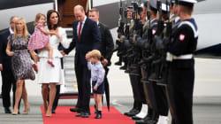 George e Charlotte fanno diventare tenerissimo il viaggio in Polonia di mamma e