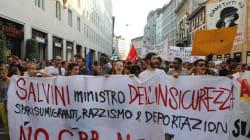 Migliaia nella piazza anti-sovranista di Milano contro Salvini/Orban, per una