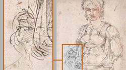 Scoperto autoritratto di Michelangelo in un
