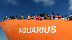 La nave Aquarius è partita per