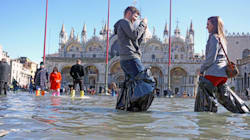 Torna l'acqua alta a Venezia, previsti 115