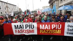 Partito il corteo antifascista a Roma. La presidente dell'Arci: