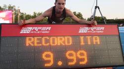 Tortu toglie l'ultimo record a Mennea e scende sotto il muro dei 10 secondi nei 100