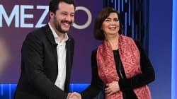 Salvini si scusa in tv con la Boldrini, poi le scintille su migranti e ruolo della presidente (di F.