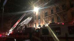 Un incendie à New York fait au moins 12
