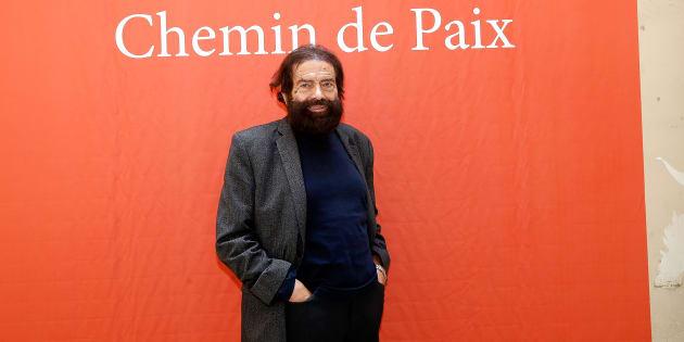 L'écrivain Marek Halter le 20 septembre 2015 à Paris.