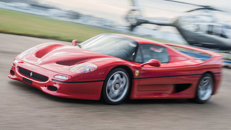 Would You Pay 2 Million For A Ferrari F50 Wvideo Autoblog