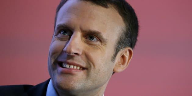 Emmanuel Macron, le 1er décembre 2016 à Paris. REUTERS/Jacky Naegelen