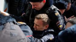700 manifestants, dont l'opposant Alexeï Navalny interpellés lors d'une marche anticorruption à