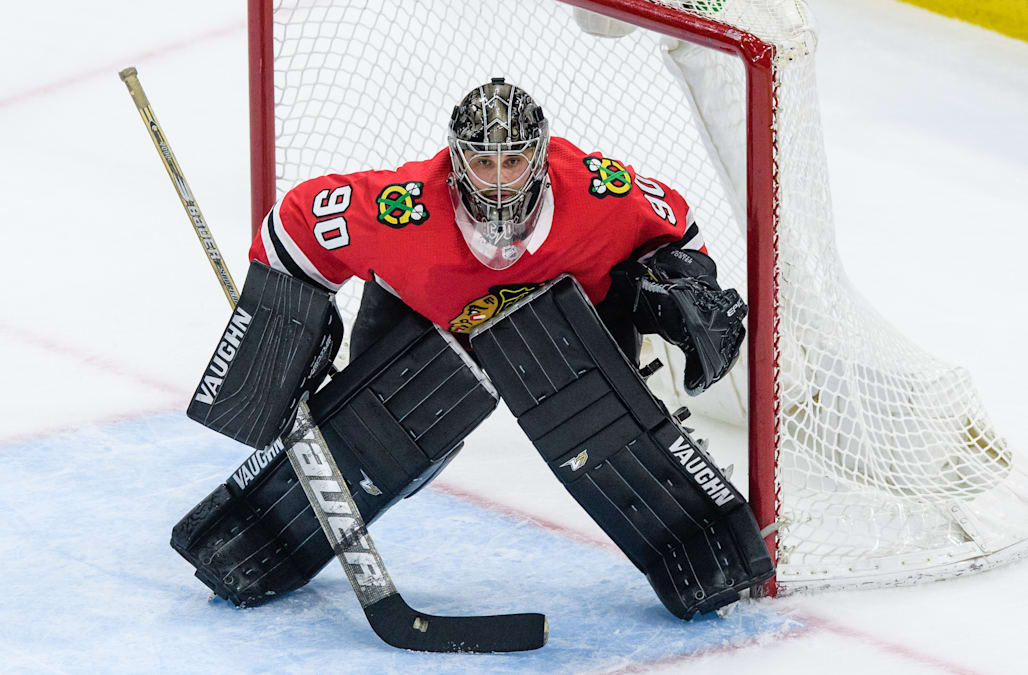 The Blackhawks Used A 36 Year Old Accountant As An Emergency Goalie And He  Stopped Every Shot He Faced