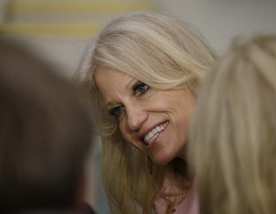 Conway says she uses 'femininity' to influence Trump