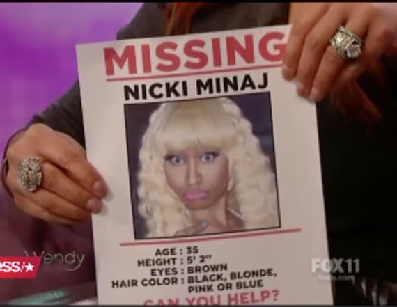 Wendy Williams wants to find Nicki Minaj
