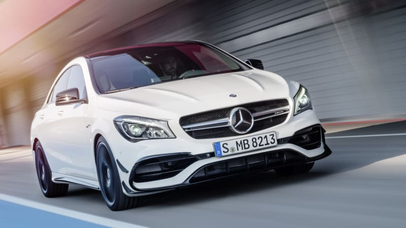 MercedesBenz CLA45 AMG News Photos and Buying Information  Autoblog