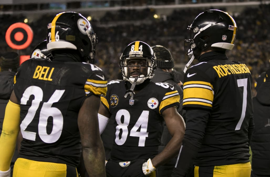 Image result for le'veon bell ben roethlisberger