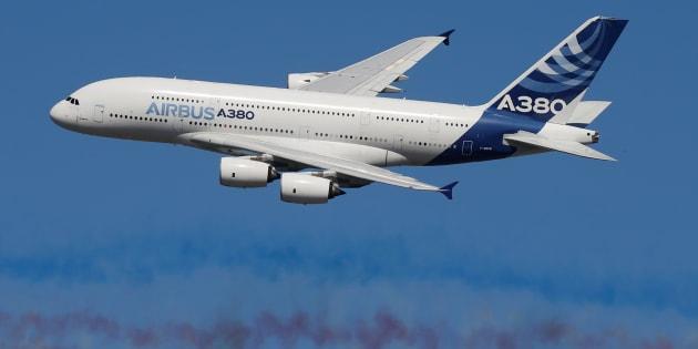 Le plan d 39 airbus pour sauver l 39 a380 for Airbus a380 photos interieur