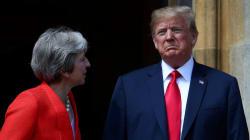 'Fake News', dice Trump sobre sus críticas contra Theresa May y el