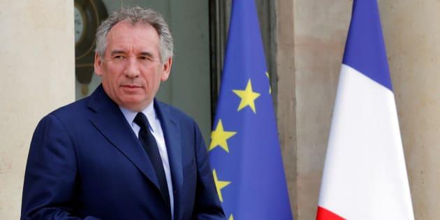 François Bayrou à l'Elysée le 18 mai.