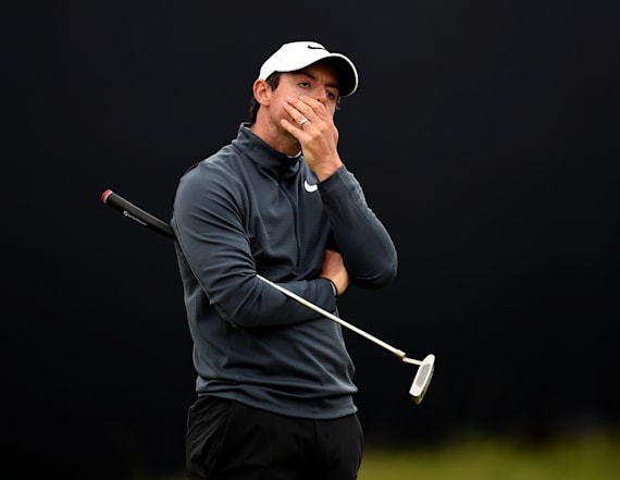 McIlory just played a wild round of golf