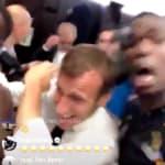 Macron était déchaîné dans le vestiaire des