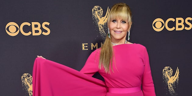 Jane Fonda at the 69th Annual Primetime Emmy Awards on September 17, 2017 in Los Angeles, California. (Frazer Harrison/Getty Images)
