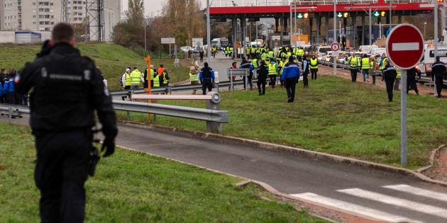Deux jours après la mobilisation des gilets jaunes, les premières condamnations tombent (photo d'illustration prise le 17 novembre).