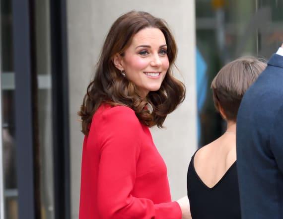 Duchess Kate dons festive Goat frock