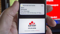 'Serious Glitches' Mean A Fail In Quebec, Ontario For Emergency Warning