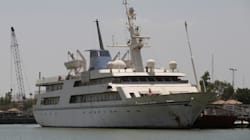 Look: Saddam Hussein's Superyacht Turned Into Floating