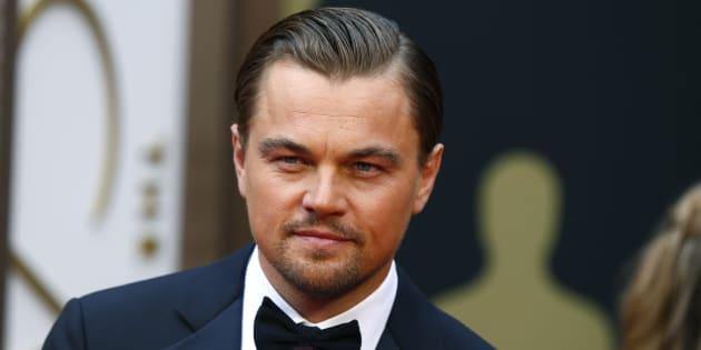 El actor Leonardo DiCaprio.