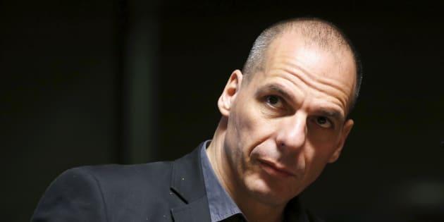 Yanis Varoufakis, en 2015, cuando aún ers ministro de Finanzas en Grecia.
