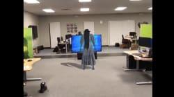 Designer Recreates 'The Ring' Horror Scene Using Augmented