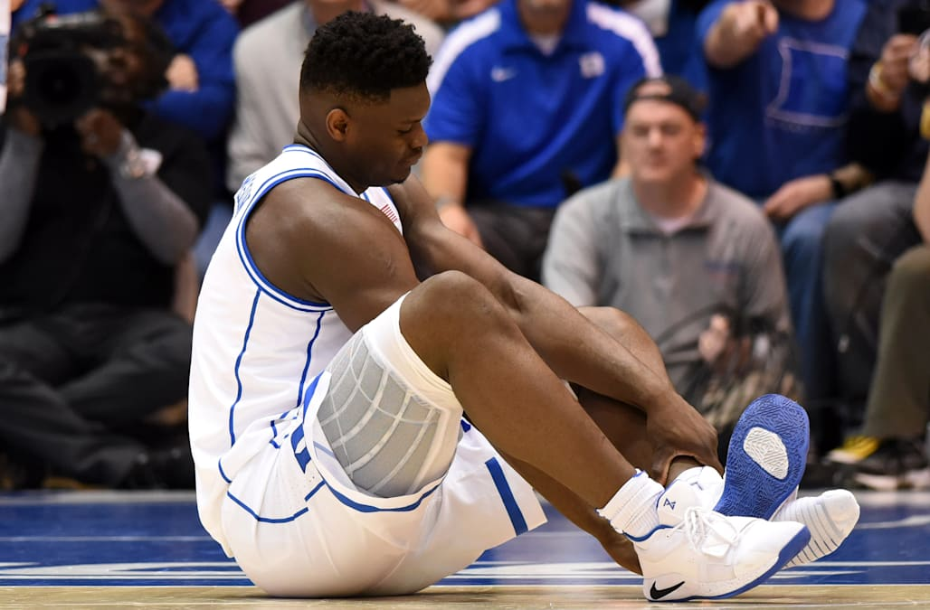 9c4ec2298d0 Zion Williamson s exploding shoe isn t as uncommon as you might think