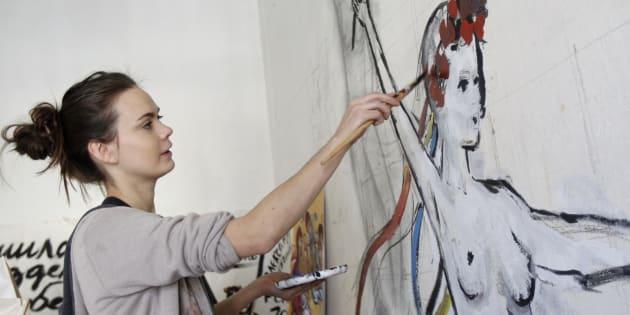Oksana Chatchko était une vraie révolutionnaire, une âme pure, une artiste qui voulait transformer le monde.