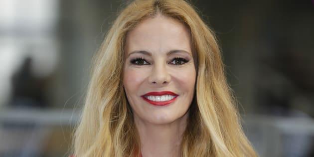 La presentadora Paula Vázquez durante la presentación del programa 'Fama, a bailar' en Madrid el 7 de marzo de 2018.