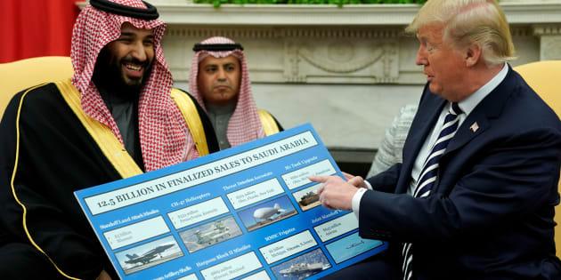 """Pourquoi Donald Trump veut fonder une """"OTAN arabe""""."""