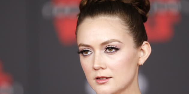 """Billie Lourd lors de la première mondiale de """"Star Wars 8 : Les Derniers Jedi"""" à Los Angeles le 9 décembre."""