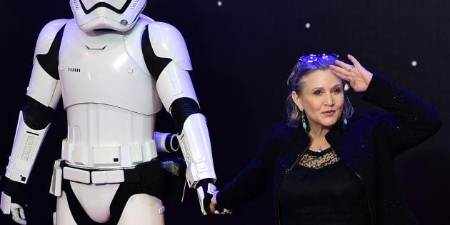 """Finalement Carrie Fisher n'apparaîtrait pas dans """"Star Wars: épisode IX"""""""