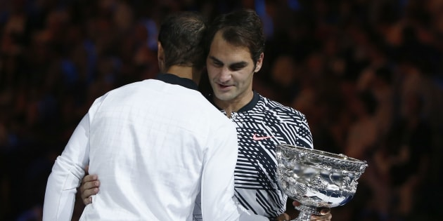 Roger Federer, le miracle de Melbourne. REUTERS/Thomas Peter