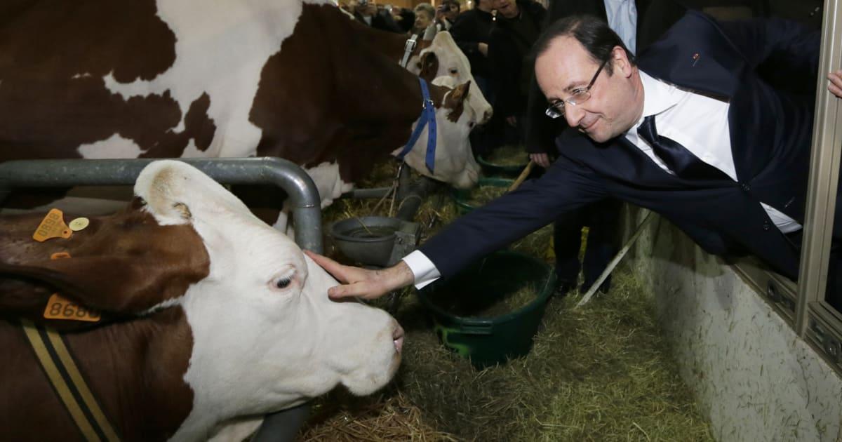 Au salon de l 39 agriculture 2018 macron a battu le record - Salon de l4agriculture ...