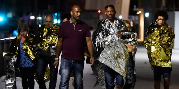 La présidence annonce que des Français figurent parmi les victimes et un renforcement de la sécurité autour des opérations de vote en Grande-Bretagne.