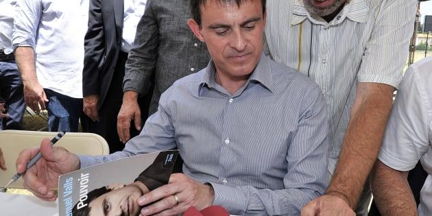 Manuel Valls se va a salir un libro.