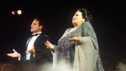 La soprano espagnole Montserrat Caballé est