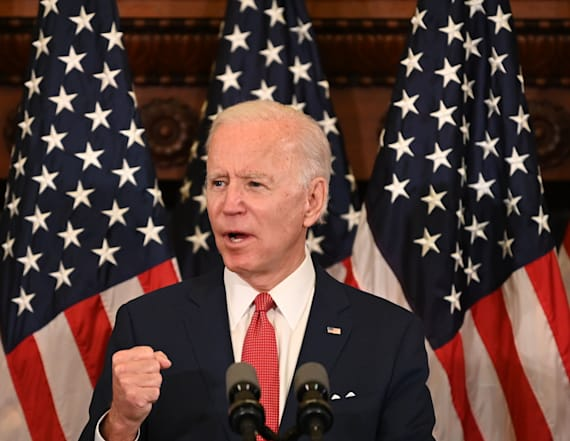 Biden: Floyd's final words are a wake-up call