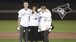 Blue Jays Retire Roy Halladay's Number In Touching