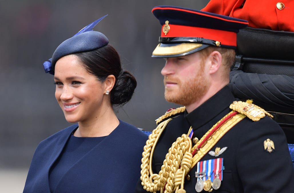 Trooping the Colour: Meghan Markle makes post-baby public debut 1