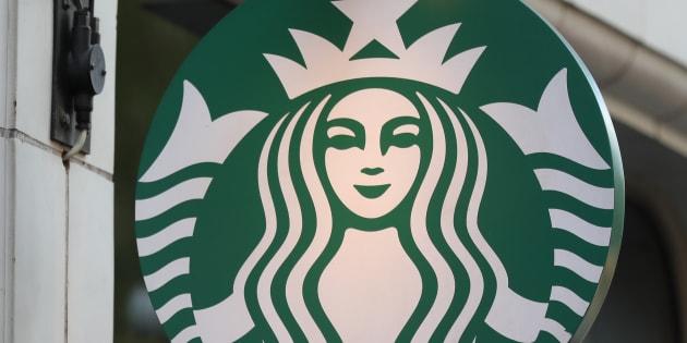 Photo d'une enseigne Starbucks en Angleterre (Illustration).